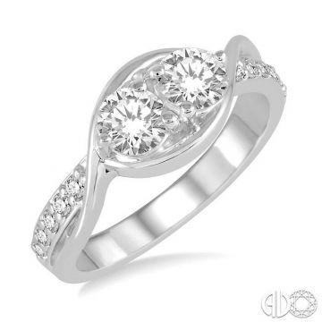 Ashi Diamonds 14k White Gold Diamond Ring - 443C3DJFHWG