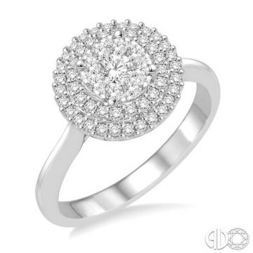 Ashi Diamonds 14k White Gold Lovebright Collection Diamond Ring - 136C3DJFVWG
