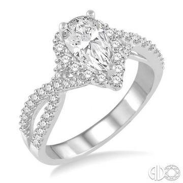 Ashi Diamonds 14k White Gold I Do Collection Diamond Ring - 258C0DJFVWG-LE-1.20