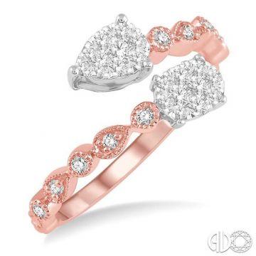 Ashi Diamonds 14k Two-Tone Gold Lovebright Collection Diamond Ring - 156D5DJFHPW