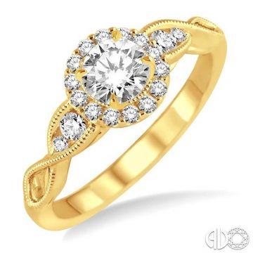 Ashi Diamonds 14k Yellow Gold I Do Collection Diamond Ring - 20993DJFHYG-LE
