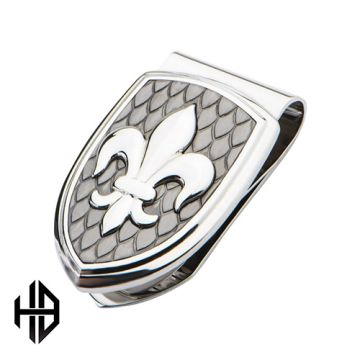 Inox White Stainless Steel Money Clip