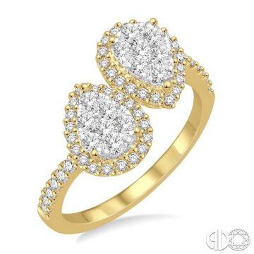 Ashi Diamonds 14k Two-Tone Gold Lovebright Collection Diamond Ring - 443B2DJFVYW