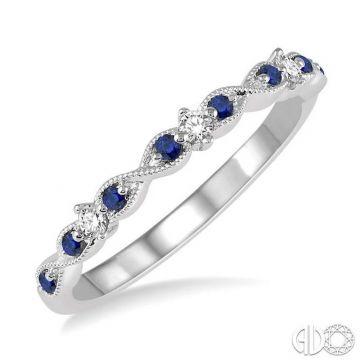 Ashi Diamonds 14k White Gold Diamond & Gemstone Ring - 46429DJFVSPWG