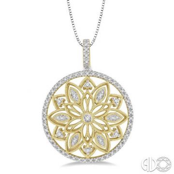 Ashi Diamonds 10k Yellow Gold Diamond Pendant - 98286DJTSPDYG