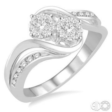 Ashi Diamonds 14k White Gold Lovebright Collection Diamond Ring - 444B4DJFHWG