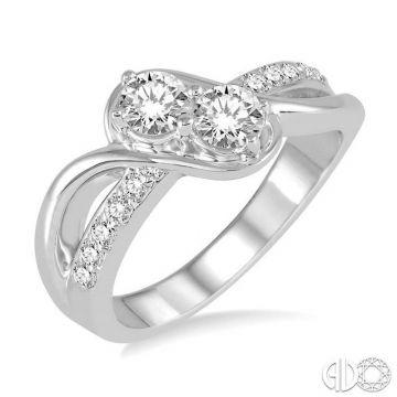 Ashi Diamonds 14k White Gold Diamond Ring - 442C3DJFHWG