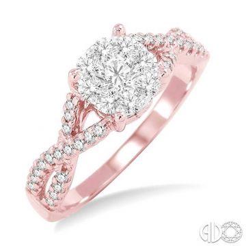 Ashi Diamonds 14k Two-Tone Gold Lovebright Collection Diamond Ring - 19493DJFVPW-LE