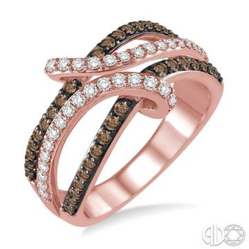 Ashi Diamonds 14k Rose Gold Champagne Collection Diamond Ring - 35572DJFHPG