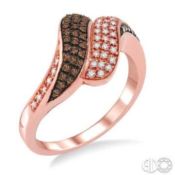 Ashi Diamonds 14k Rose Gold Champagne Collection Diamond Ring - 34726DJFSPG