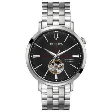 Bulova Aerojet White Stainless Steel Automatic Watch