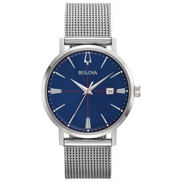 Bulova Aerojet White Stainless Steel Bracelet Watch