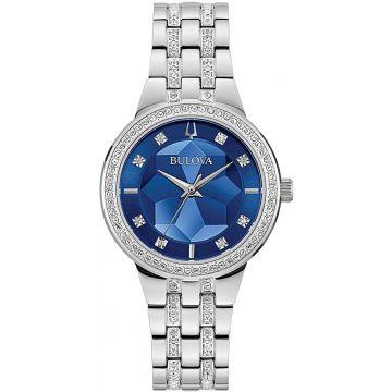 Bulova Phantom White Stainless Steel Bracelet Watch