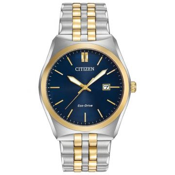 Citizen Blue Stainless Steel Watch