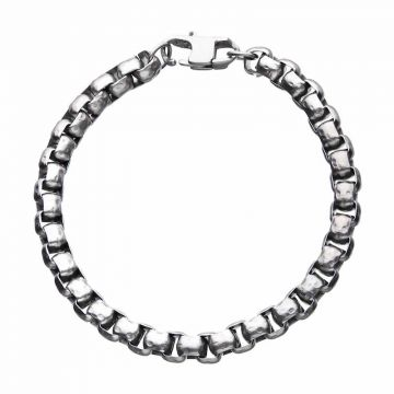 Inox White Stainless Steel Necklace