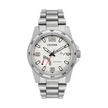 Citizen White Stainless Steel Bracelet Watch