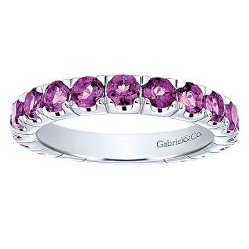 Gabriel & Co. Fashion 14k White Gold Ring