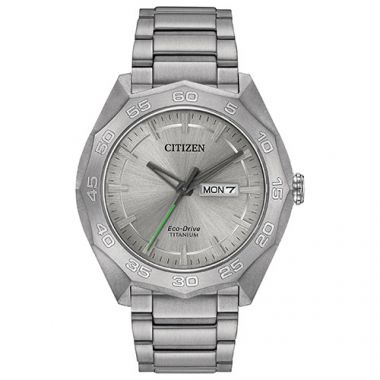Citizen Eco Drive White Stainless Steel Bracelet Watch