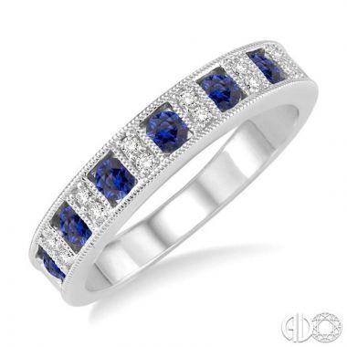 Ashi Diamonds 14k White Gold Diamond & Gemstone Ring - 46338DJFHSPWG