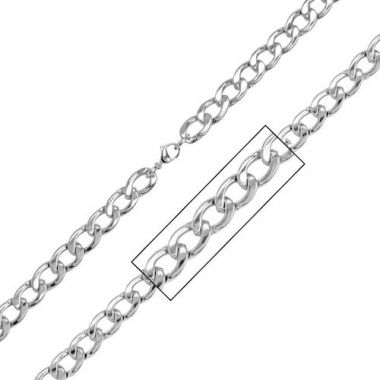 Inox White Stainless Steel Chain