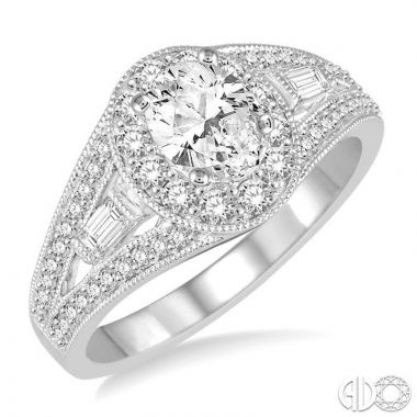 Ashi Diamonds 14k White Gold 0.90CTTW Diamond Ring - 235E2DJFHWG-LE