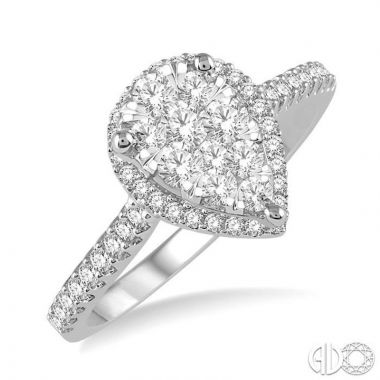 Ashi Diamonds 14k Two-Tone Gold Lovebright Collection Diamond Ring - 126F3DJFVWP