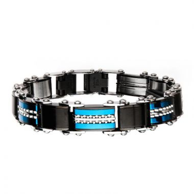 Inox Black Stainless Steel Bracelet