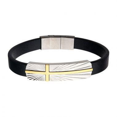 Inox Yellow Stainless Steel Bracelet