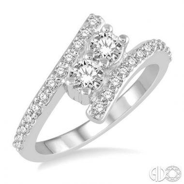 Ashi Diamonds 14k White Gold Diamond Ring - 440A3DJFHWG