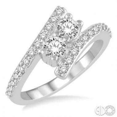 Ashi Diamonds 14k White Gold Diamond Ring - 440A2DJFHWG