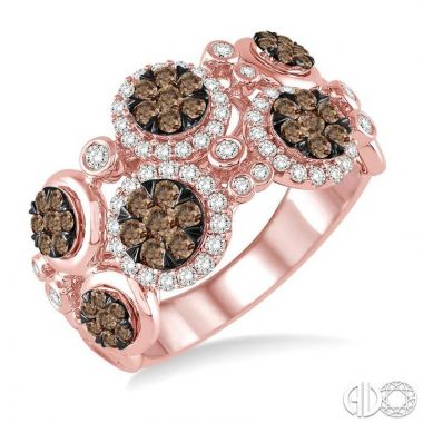 Ashi Diamonds 14k Rose Gold Lovebright Collection Diamond Ring - 35710DJFHPG-1.25