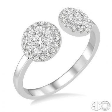 Ashi Diamonds 14k White Gold Lovebright Collection Diamond Ring - 142C4DJFVWG