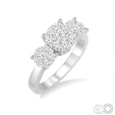 Ashi Diamonds 14k White Gold Lovebright Collection Diamond Ring - 36923DJFVWG