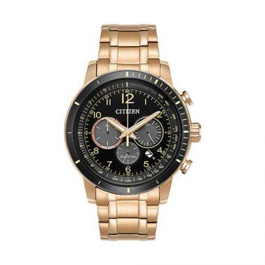 Citizen Rose Stainless Steel Diamond Chronograph Watch