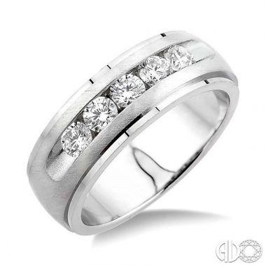 Ashi Diamonds 14k White Gold His & Hers Duos Diamond Ring - 38511DJFRWG