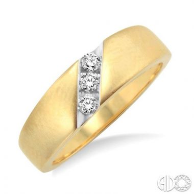 Ashi Diamonds 14k Yellow Gold His & Hers Duos Diamond Ring - 39348DJFXLDYG