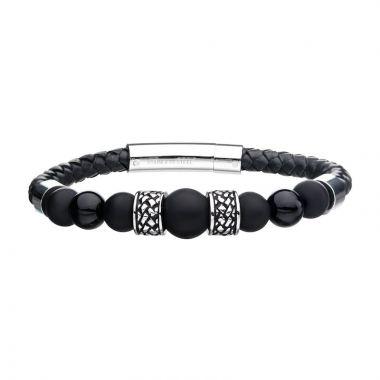 Inox White Stainless Steel Bracelet