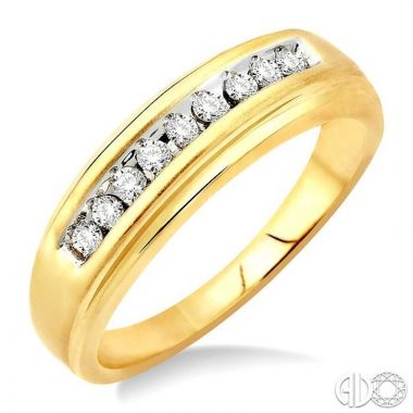 Ashi Diamonds 10k Yellow Gold His & Hers Duos Diamond Ring - 39108DJTXMN