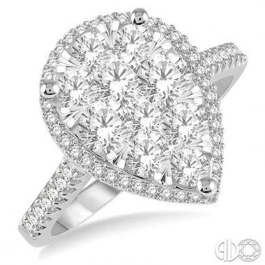 Ashi Diamonds 14k Two-Tone Gold Lovebright Collection Diamond Ring - 126F1DJFVWP