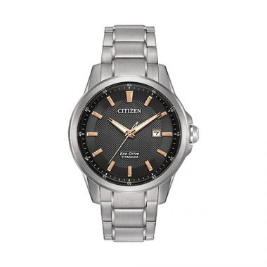 Citizen Black Titanium Watch
