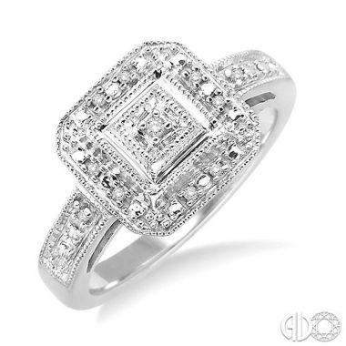 Ashi Diamonds Sterling Silver Stones Collection Diamond Ring - 86019DJSSSLRG