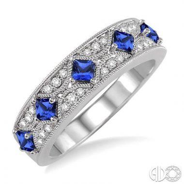 Ashi Diamonds 14k White Gold Diamond & Gemstone Ring - 46298DJFHSPWG