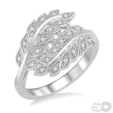 Ashi Diamonds Sterling Silver Stones Collection Diamond Ring - 86508DJSSSLRG