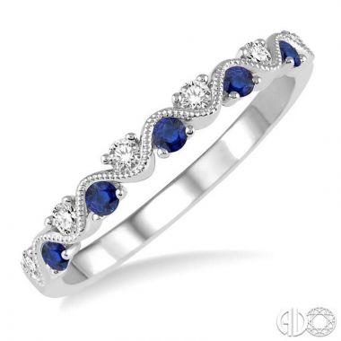 Ashi Diamonds 14k White Gold Diamond & Gemstone Ring - 46398DJFHSPWG