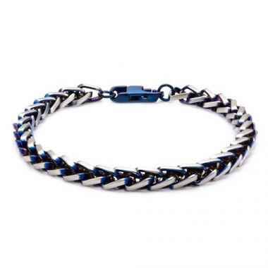 Inox Blue Stainless Steel Bracelet