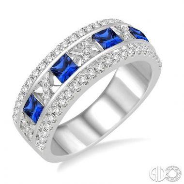 Ashi Diamonds 14k White Gold Diamond & Gemstone Ring - 40754DJFHSPWG