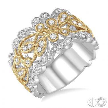 Ashi Diamonds 14k Two-Tone Gold Diamond Ring - 35643DJFHWY