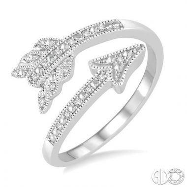 Ashi Diamonds Sterling Silver Stones Collection Diamond Ring - 86989DJSSSLRG