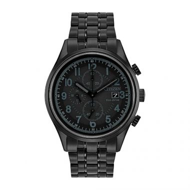 Citizen Black Stainless Steel Bracelet Watch