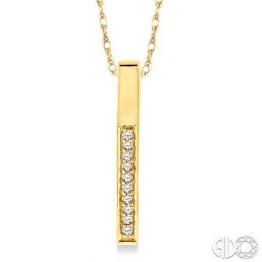 Ashi Diamonds 10k Yellow Gold Diamond Pendant - 92008DJTXPD